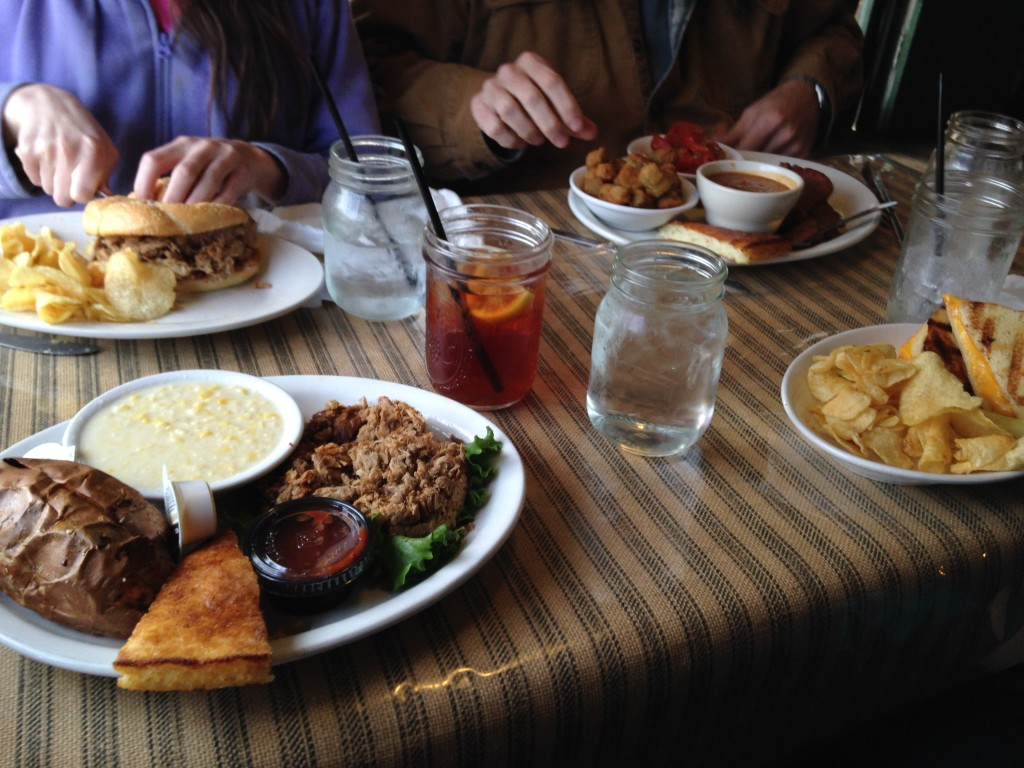 The epitomy of the Southern meal.