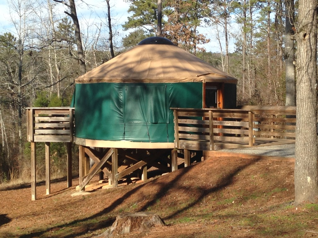 High Falls State Park Yurts