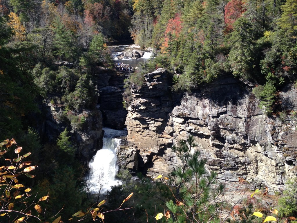 A view of Linville Falls