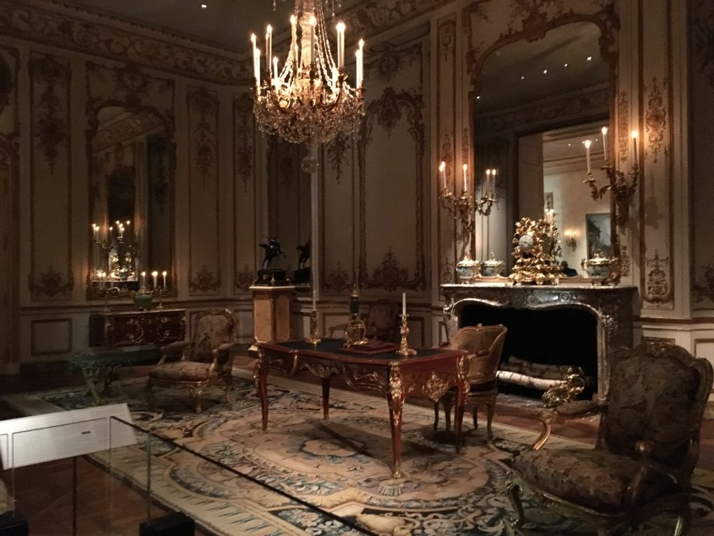 Period furnishings at the Met