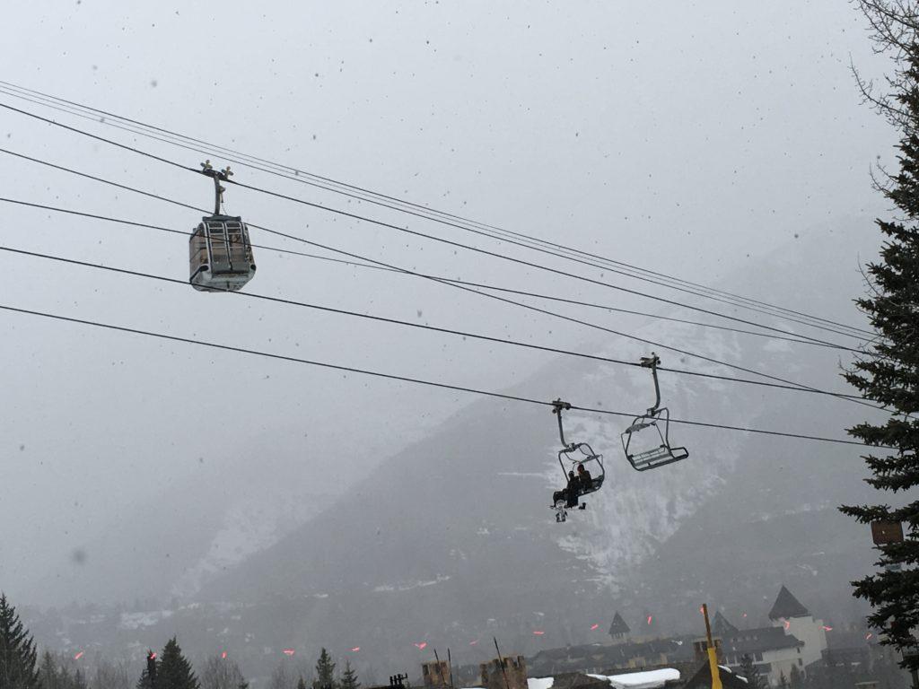 Ski Lift at Vail