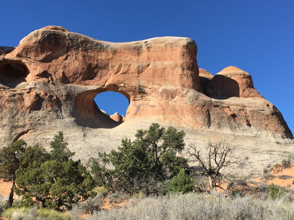 Tunnel Arch on the Landscape Arch Trail