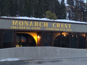 Crossing the Rockies at Monarch