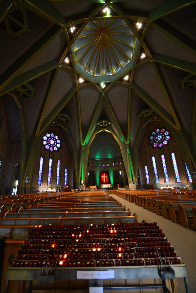 Interior of Our Lady of Cape Shrine