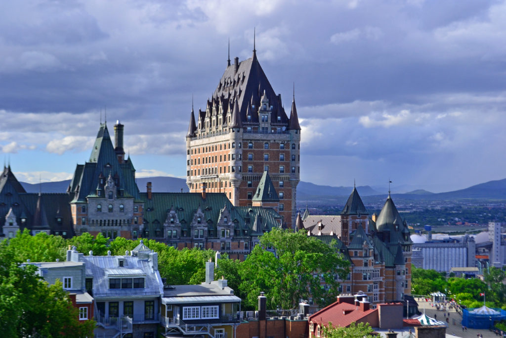 The Chateau Frontenac Hotel