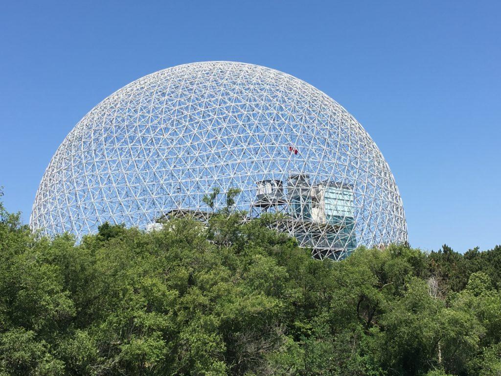 Biosphere at Parc Jean-Drapeau